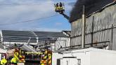 'Basically everything is lost' but Glenisk director defiant after devastating fire