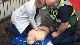 GALLERY: Carlow Town Community First Responders hold demonstration of CPR in shopping centre
