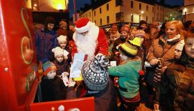 GALLERY: Christmas in Carlow - Santa turns on the lights!
