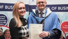 GALLERY: Borris Vocational School past pupils receive WIT awards for their work