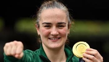 Irish Olympic champ launches healthy eating campaign for schools