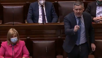 """""""Listen to the people"""" - Heated words exchanged in Dáil on housing"""
