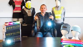 Carlow company creates innovative new product to ensure greater safety at night for walkers and runners