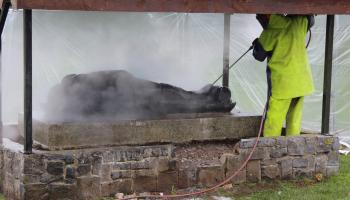 16th century effigy returned to Carlow after 200 years