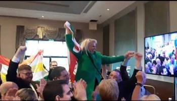 WATCH: Carlow's Jennifer Murnane O'Connor has taken the fourth seat in Carlow/Kilkenny