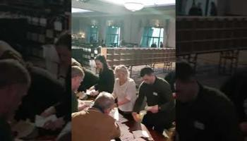 WATCH: Ballot boxes opened at the Lyrath Estate for the Carlow/Kilkenny constituency