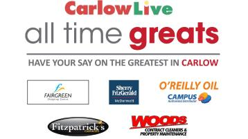Revealed! The two people through to the FINAL of Carlow's All Time Greats