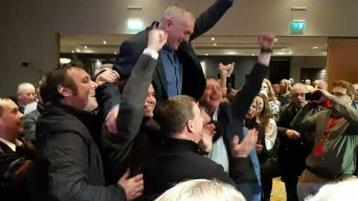 WATCH: Fianna Fáil's John McGuinness takes the second seat in Carlow/Kilkenny