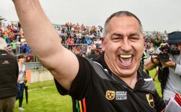 CONFIRMED: Colm Bonnar and Turlough O'Brien ratified as Carlow's senior managers