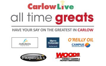 Revealed: After thousands of votes, the winner of Carlow's All Time Greats competition is...