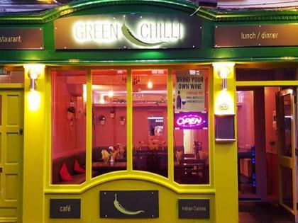 New Indian Restaurant Green Chilli On Dublin Street In