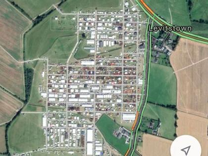 Latest Google Maps Satellite Images For Carlow Show Ploughing