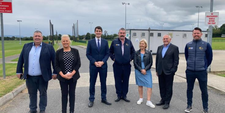 PICTURES: Sports Minister brought on tour of Carlow