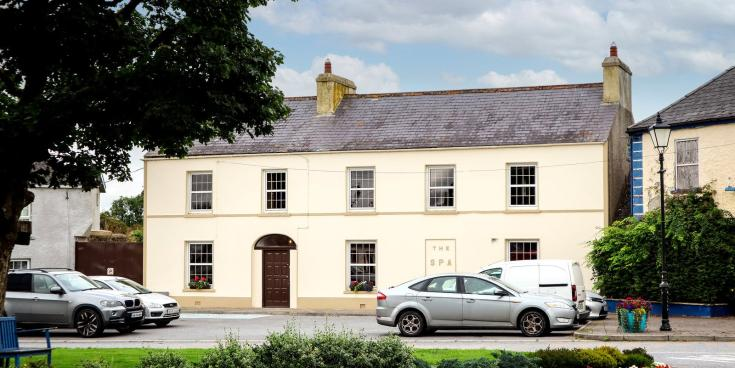 Wow! 8-bed Kilkenny townhouse with period features for only €225k - click for pics!