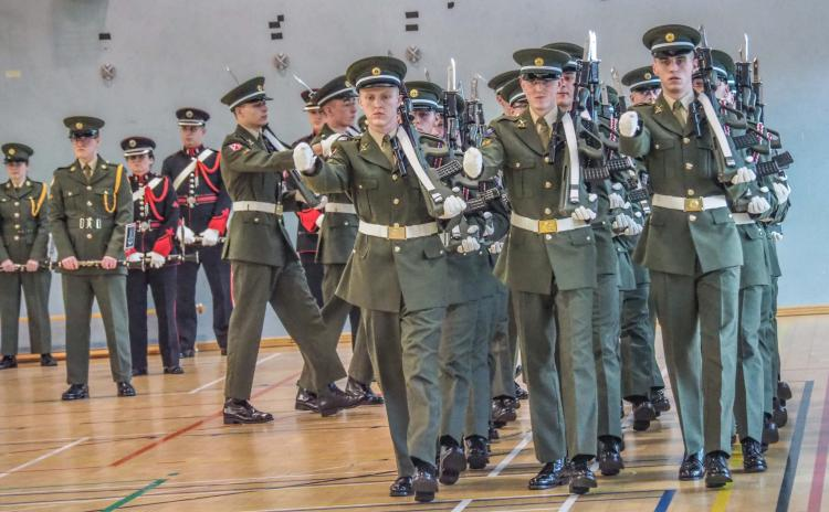 GALLERY: Carlow's Lar Dermody part of passing out parade of the 153rd Recruit Platoon
