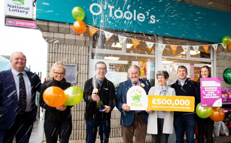 GALLERY: Check out the pictures after shop sells €700,000 worth of winning Lotto tickets