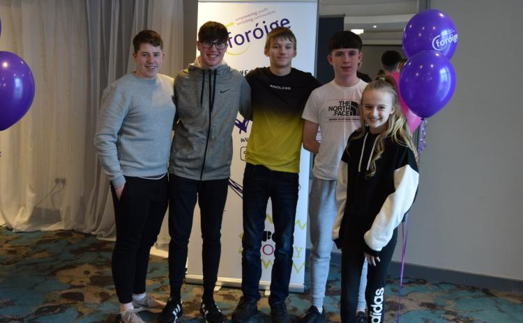 PICTURES: Young people from Rathvilly have their voices heard at Foróige Conference